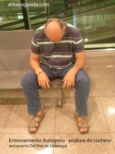 Entrenamiento autógeno postura cochero de frente almayogavida_com