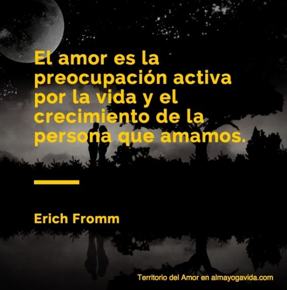 El amor en pareja en almayogavida.com Erich Fromm