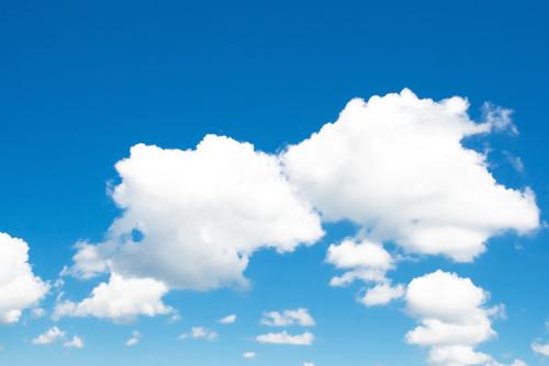Fotos E Imagenes Cielo Azul Con Nubes: Cielo Azul Nubes Respiracion Consciente En Almayogavida