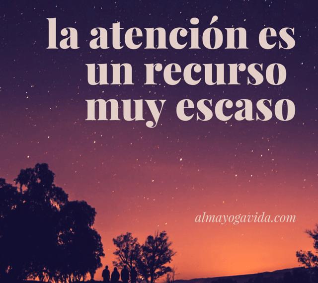 entrenar atención