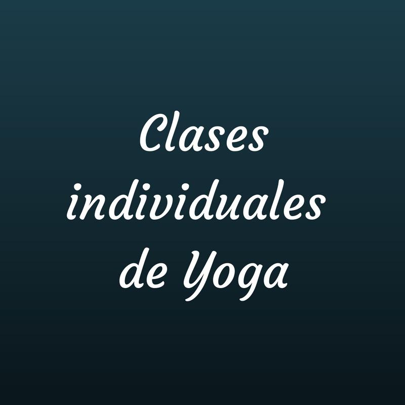 clases individuales de yoga